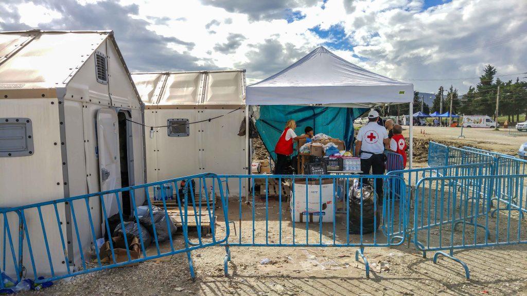 Obóz dla uchodźców w Idomeni Grecja